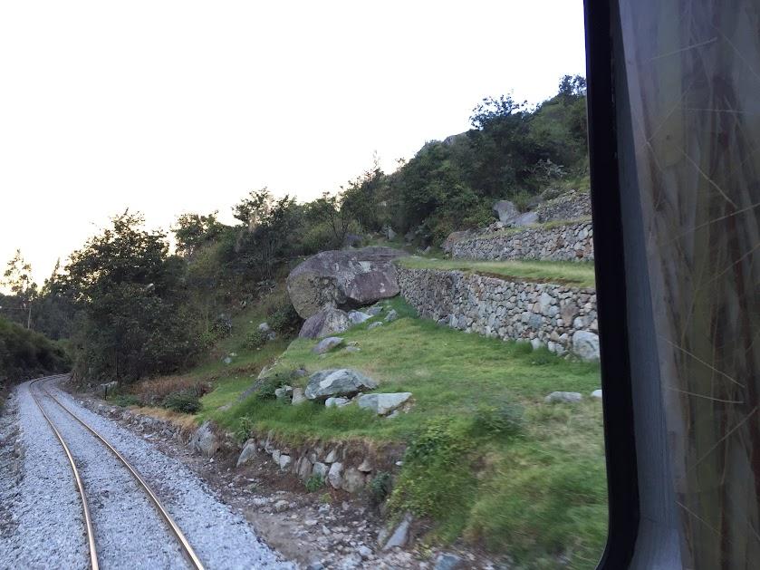 ペルーレイル 車窓