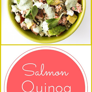 Salmon Quinoa Bowl.