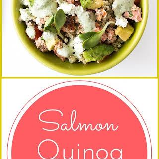 Salmon Quinoa Bowl.