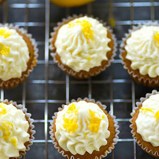 Best-Ever Lemon Cupcakes with Cream Cheese Frosting.