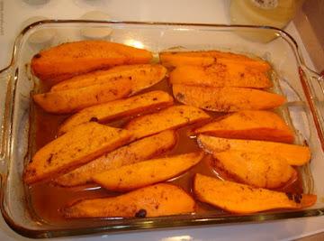 Sweet Potato Wedges Recipe