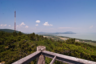 Photo: Balaton - a view from the nearest hill