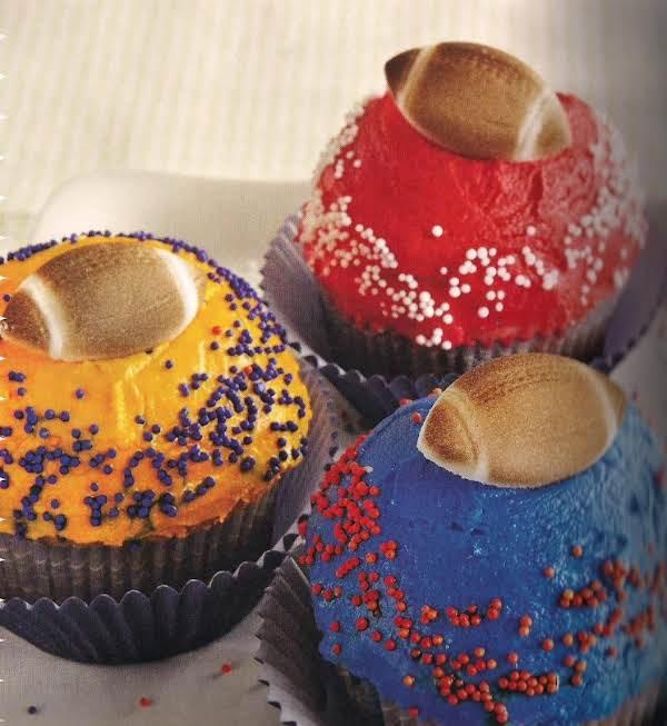 Football Fever Cupcakes