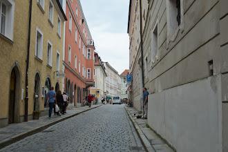 Photo: Brukowane ulice na starówce.