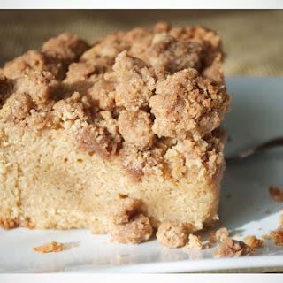 Brown Sugar New York Style Crumb Cake