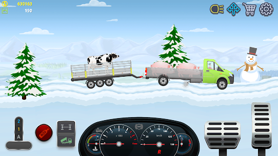 Trucker Real Wheels – Simulator MOD APK [Unlimited Money] 3.2.18 7