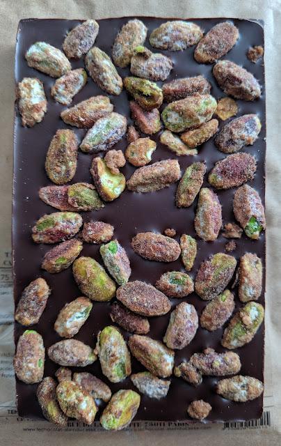 75% alain ducasse pistachios bar