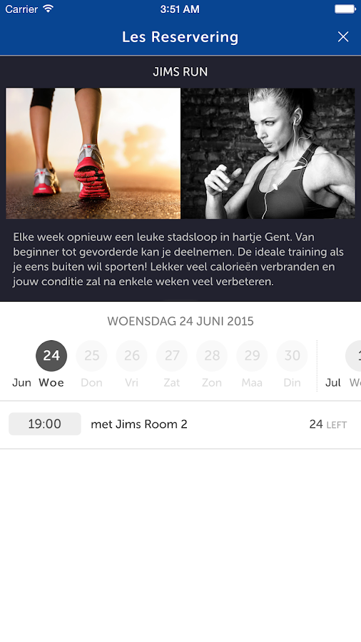 JIMS Fitness- screenshot