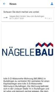 Immobilien Neu-Ulm, Nägele BAU - náhled