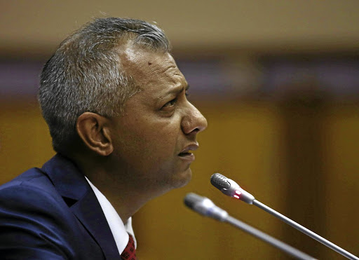 Former Eskom chief financial officer Anoj Singh appeared before a parliamentary committee into alleged corruption. The writer says Eskom executives are taking the nation for fools / ESA ALEXANDER