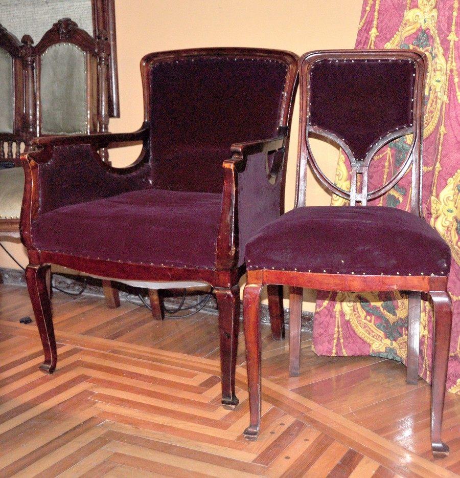 Кресло и стул