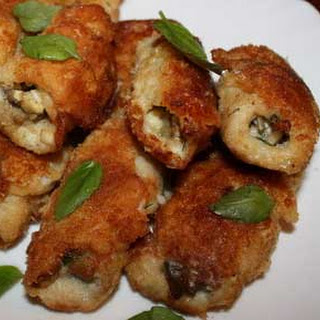 Mushrooms Stuffed Tilapia Fillets