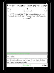 Download Jagdschein Trainer Brandenburg For PC Windows and Mac apk screenshot 12