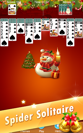 Spider Solitaire - Christmas 2.5 screenshot 618632