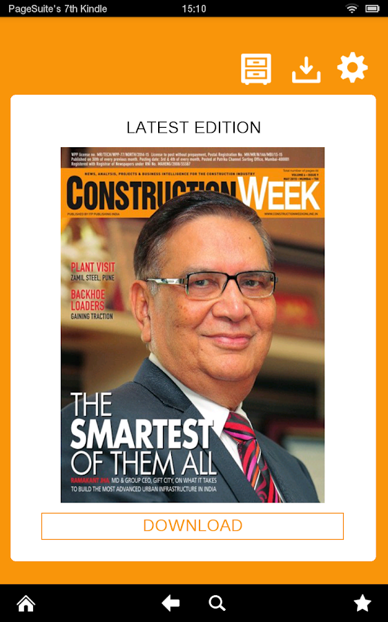 Construction Week India- screenshot