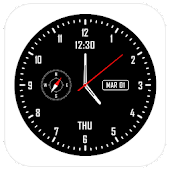 Analog clock & watch face live wallpaper