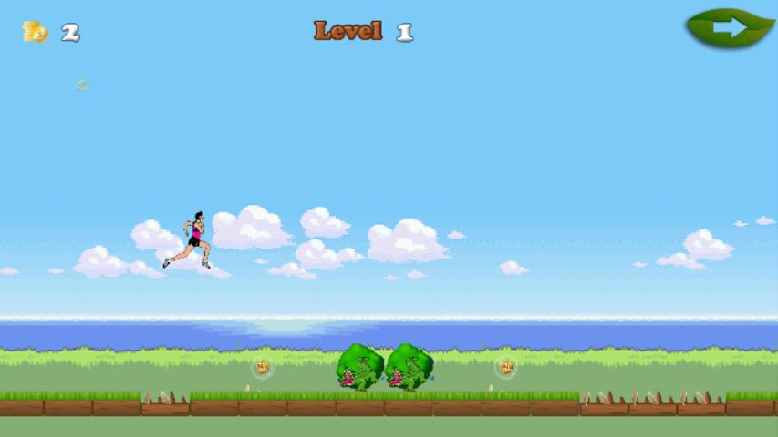 android Beach Jumpy Run Screenshot 1