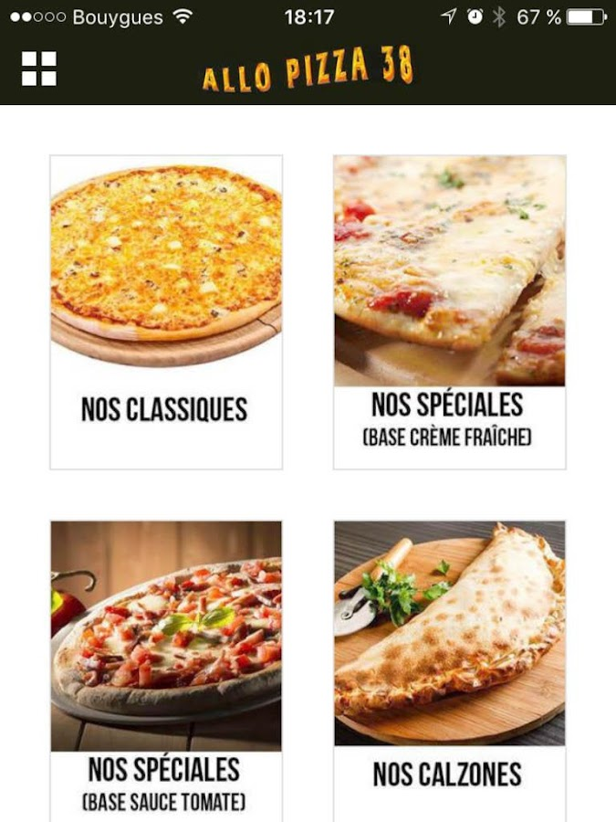 Allo Pizza 38 - Android Apps on Google Play