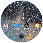 Snow on the screen 1.0 (Paid)
