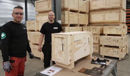 Deufol Technics starts with wooden export packaging