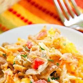 Southwestern Chicken Spaghetti