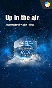 average temp &3D clock widget❆ screenshot 0