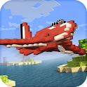 Blocky Cube Air Racer 3D icon