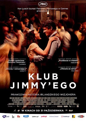 Przód ulotki filmu 'Klub Jimmy'ego'