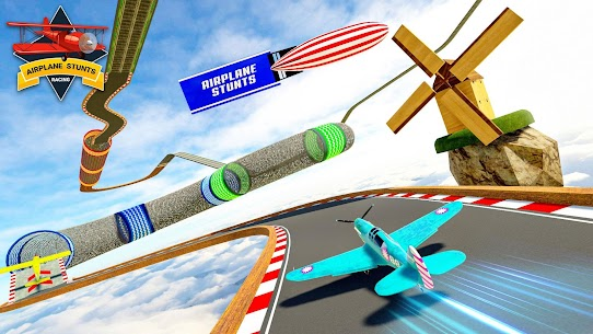 Airplane Stunts 3D: Extreme City GT Racing Plane 6