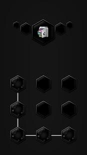 AppLock Theme Black - náhled