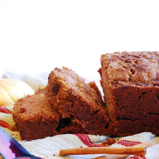 Applesauce Quick Bread (Gluten, dairy, egg, soy, peanut & tree nut free; top 8 free; vegan)