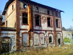 Photo: Budynek starej Rzeźni z początku XX wieku.