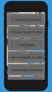 Charitable Donations Tips 1