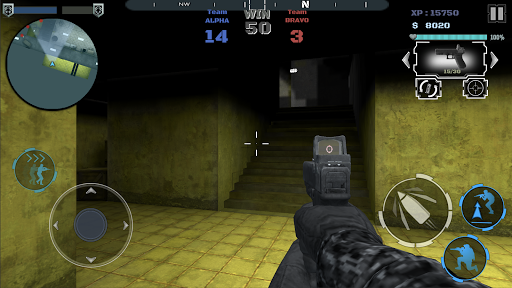 Multiplayer shooting arena A2S2K  trampa 10