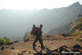 Photo: Time to start our day.....To Sanjivani Machi... Amit