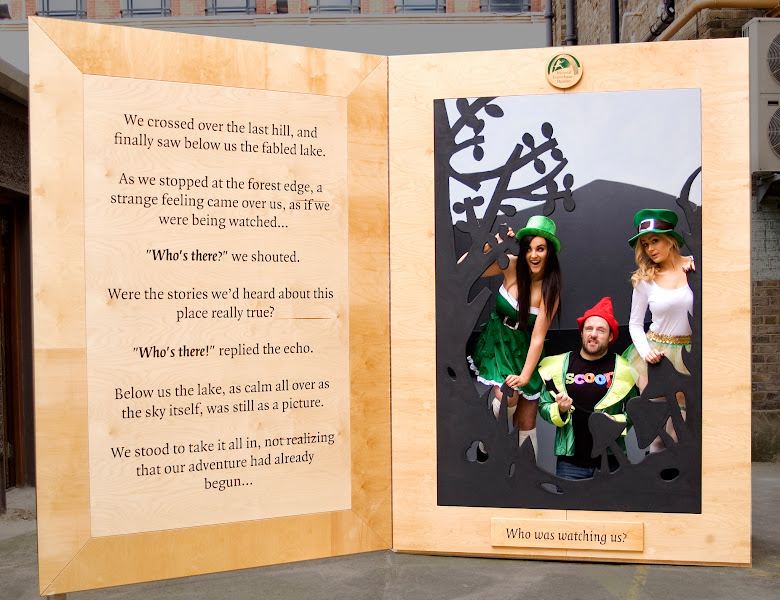 Photo: The Look of the Irish at the National Leprechaun Museum, in associationwith the SCOOP Foundation.  Picture:Ciuin Tracey.  Models: Alana Carroll,Andrew Sweeney (SCOOP Foundation), Martha Cleary