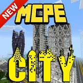 New Craft city map for MCPE