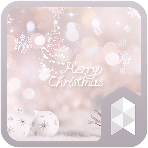 White Christmas Launcher theme (app)