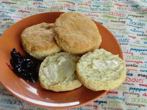 """Old Fashion Buttermilk Biscuits """"I made the recipe as is with the..."""