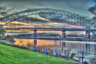 Photo: Runcorn Bridge