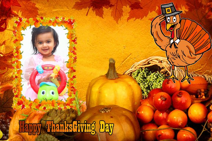 android Thanksgiving Day Photo Frames Screenshot 8