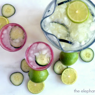 Refreshing Cucumber Limeade Slush