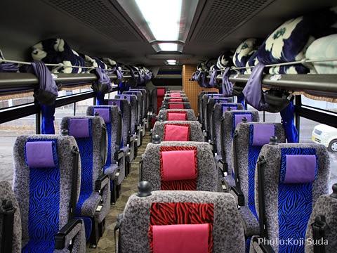 北海道バス「帯広特急ニュースター号」 ・997 車内