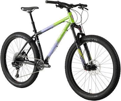 "All-City Electric Queen Bike - 27.5"", Steel, Blue/Lime Splatter alternate image 3"