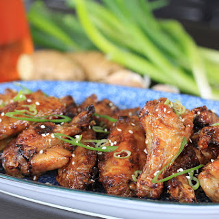 Crispy Honey Soy Chicken Wings