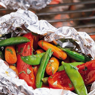 Grilled Garden Vegetable Medley Packets