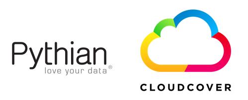 Pythian and CloudCover logo