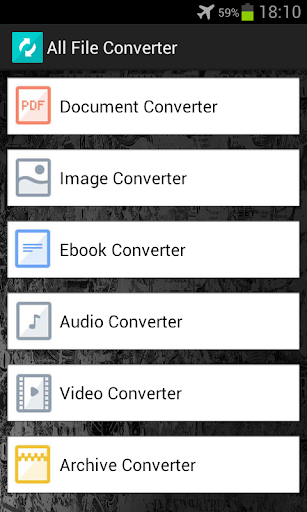 Foto do All File Converter
