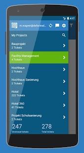 PlanRadar construction app - náhled