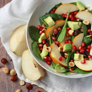 Asian Pear and Pomegranate Salad